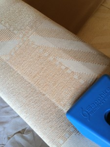Professional upholstery cleaning carried out by Bonne Fresh Clean