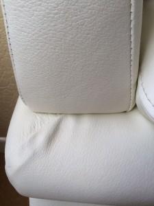 Cat scratch leather repair