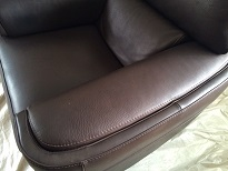 Leather cleaning by Bonne Fresh Clean - after picture