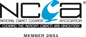 National Carpet Cleaners Assocation Member Number 2851